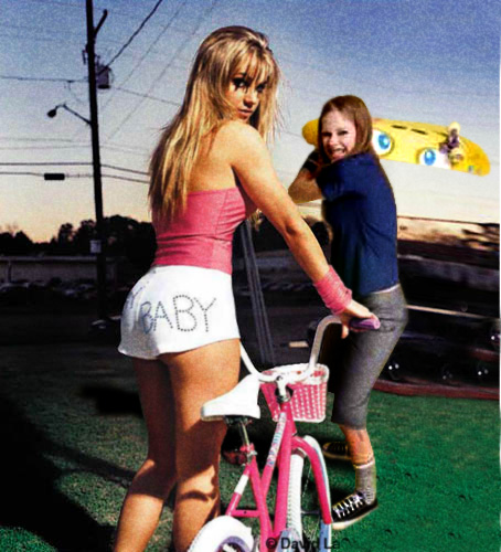 avril v britney sk8r Britney Spears Meets Avril Lavigne