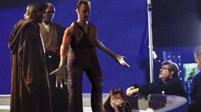jar jar binks Liam Spices Up Star Wars Attack Of The Clones