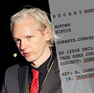 Julian Assange and Gorskys Does your Wiki leak?