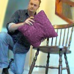 Liam, pillow and chair